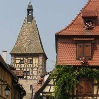 Villes et villages d`Alsace