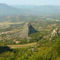 The famous Monasteries of Meteora
