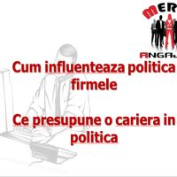 Despre politica: in firme si locuri de munca