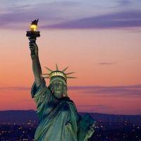 CIUDAD DE NEW YORK DE NOCHE