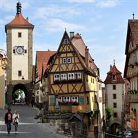 ROTHENBURG vechi oras medieval din Germania!