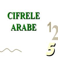 Cifrele arabe...