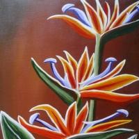 Flori - picturi de Elena CONSTANTINESCU