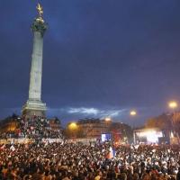 Piata Bastiliei - Paris, 6 mai 2012