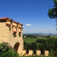 in Bavaria 34 castelul Hohenschwangau 2