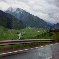 in Tirolul austriac - intoarcerea de la cascada Krimml