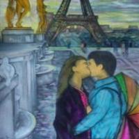 Pictand tabloul Paris je t'aime!