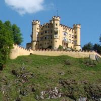 in Bavaria 33 castelul Hohenschwangau 1