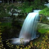 Minnehaha Falls - cascada inghetata