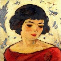 Nicolae Tonitza - Femeia in pictura
