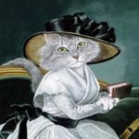 Susan Herbert- pictor de pisici
