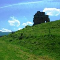 Cetatea Malaesti, Jud. Hunedoara.