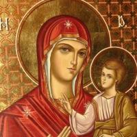 Maica Domnului in iconografia trotusana