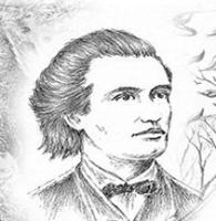 MIHAI EMINESCU - grafică Mihai CĂTRUNĂ
