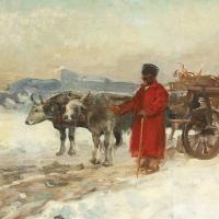 Iarna in pictura romaneasca
