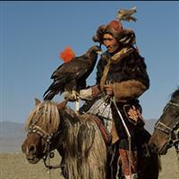 Chasseurs kazakhs et Aigle Royal