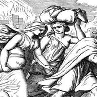 Capitolul 19 Partea I din Facerea – Biblie