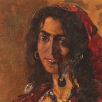 La femme en rouge69, Romanian painters