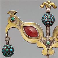Bijuterii turcmene1