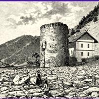 Turnul Spart & Cetatea Lotrioarei, Jud. Sibiu.