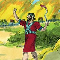 Capitolul 6 Partea II-a din Cartea lui Iosua Navi - Biblie