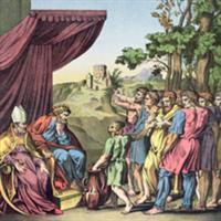 Capitolul 16 din Cartea lui Iosua Navi - Biblie