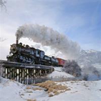 Trenuri in iarna