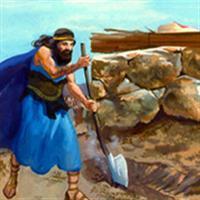Capitolul 18 Partea I din Cartea III-a Regilor – Biblie