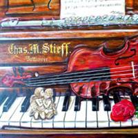 "Pictand tabloul  ""Romantismul muzicii clasice!"""