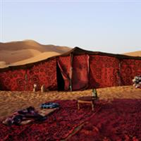 Viata in cort de beduin