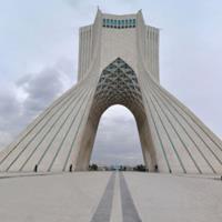 Iran Tehran Azadi Tower