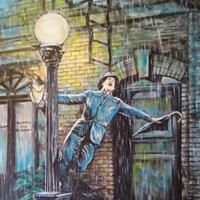 Pictand tabloul Singin' in the Rain!""