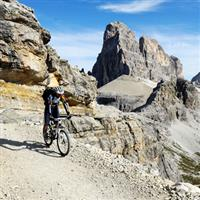 Mountainbiken in Dolomiti