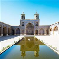 Iran,  Nasir al-Mulk Moscheea.