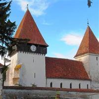 Biserica Fortificata Merchindeal, Jud. Sibiu.