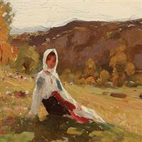 PEINTRES ROUMAINS (I)-Nicolae Grigorescu