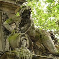 Paris Jardin du Luxembourg, Fontaine Medicis