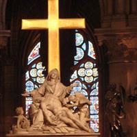 Paris Catedrala Notre-Dame Interior