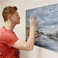 Rain Paintings by Francis McCrory