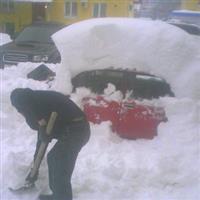 Automobile în iarna rusească