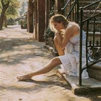 Steve Hanks pictura in acuarela