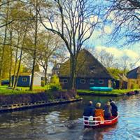 Cu Nikonul la drum. Giethoorn  Olanda