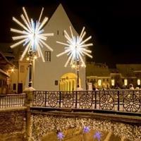 Case decorate de Crăciun