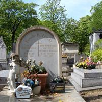 Paris Cimitirul Pere-Lachaise1