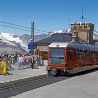 Cu Nikonul la drum. Zermatt Matterhorn Gornergratbahn