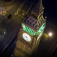 London-from-above-at-night