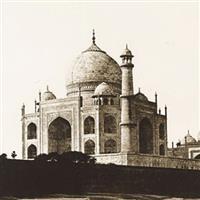 Vintage Photograph of Taj Mahal - Agra