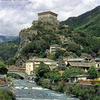 Cu Nikonul la drum.Cetati si castele in Valle d Aosta