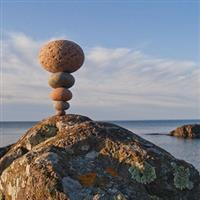 Michael Grab si arta rocilor in balans
