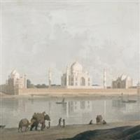 Agra-Vintage Photographs of Taj Mahal